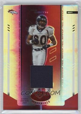 2004 Leaf Certified Materials - [Base] - Mirror Red Materials [Memorabilia] #38 - Rod Smith /150