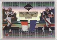 Chad Johnson, Travis Henry #/25