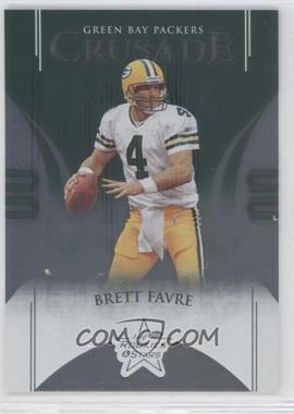 2004 Leaf Rookies & Stars - Crusade - Green #C-1 - Brett Favre /750