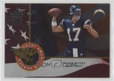 2004 Leaf Rookies & Stars - Great American Heroes - Red #GAH-24 - Philip Rivers /1250