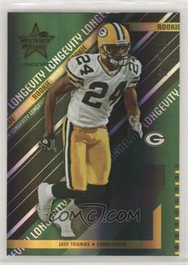 2004 Leaf Rookies & Stars Longevity - [Base] - Emerald #132 - Joey Thomas /75