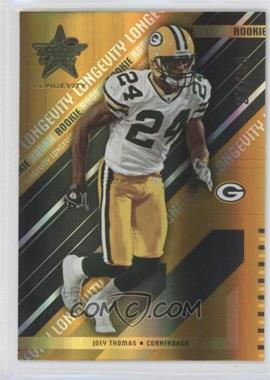2004 Leaf Rookies & Stars Longevity - [Base] - Gold #132 - Joey Thomas /99