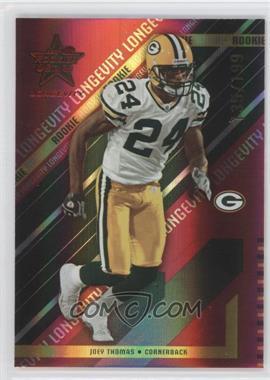 2004 Leaf Rookies & Stars Longevity - [Base] - Ruby #132 - Joey Thomas /199