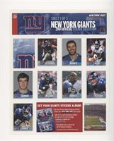 Luke Petitgout, Kurt Warner, Will Allen, Eli Manning, Shaun Williams, Tiki Barb…