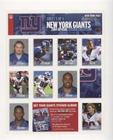 Jeremy Shockey, Will Peterson, Shaun Williams, Will Allen, Michael Strahan, Ike…