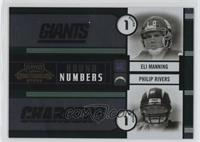 Eli Manning, Philip Rivers /750