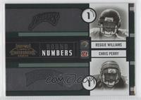 Chris Perry, Reggie Williams, Steven Jackson, Kevin Jones #/500