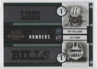 Lee Evans, Michael Jenkins, Michael Clayton, Roy Williams #/500
