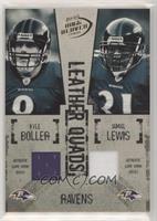 Kyle Boller, Jamal Lewis, Ray Lewis, Todd Heap #/50