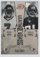 Michael Vick, Peerless Price, T.J. Duckett, Warrick Dunn /1250