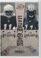 Larry Fitzgerald, Lee Evans, Reggie Williams, Roy Williams /1250
