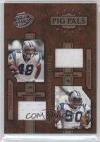 Stephen Davis, Julius Peppers #/100