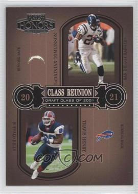 2004 Playoff Honors - Class Reunion #CR-23 - LaDainian Tomlinson, Travis Henry /1500