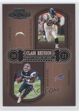 2004 Playoff Honors - Class Reunion #CR-23 - LaDainian Tomlinson, Travis Henry /1500