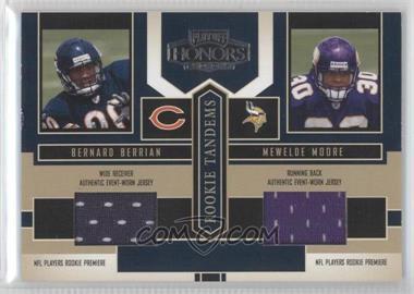 2004 Playoff Honors - Rookie Tandems - Jerseys [Memorabilia] #RT-10 - Bernard Berrian, Mewelde Moore
