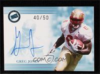Greg Jones #40/50