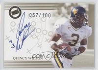 Quincy Wilson #/100