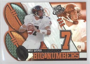 2004 Press Pass - Big Numbers #BN 22 - Matt Schaub