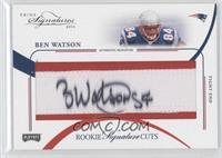 Rookie Signature Cuts - Ben Watson /99