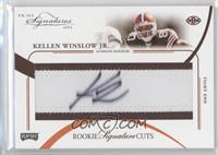 Rookie Signature Cuts - Kellen Winslow Jr. /99
