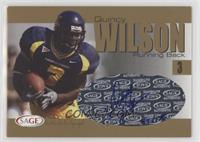 Quincy Wilson [Noted] #/175