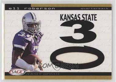 2004 SAGE Jersey Update - [Base] #16 - Eli Roberson
