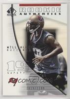 Rookie Authentics - Will Allen #/1,199