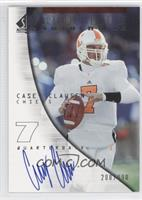 Rookie Authentics - Casey Clausen #/990