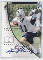 Rookie Authentics - Drew Henson #/990