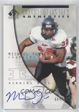 2004 SP Authentic - [Base] #160 - Michael Turner /990