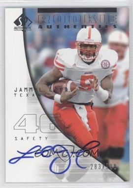 2004 SP Authentic - [Base] #168 - Jammal Lord /990