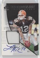 Rookie Authentics - Luke McCown [Noted] #/799