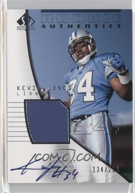 2004 SP Authentic - [Base] #211 - Kevin Jones /299