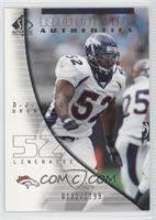 Rookie Authentics - D.J. Williams #/1,199