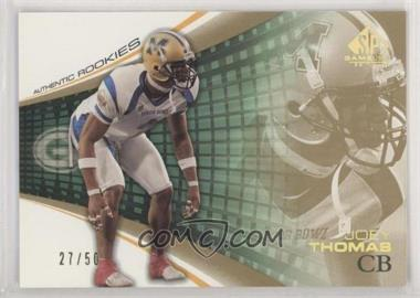 2004 SP Game Used Edition - [Base] - Gold #138 - Joey Thomas /50