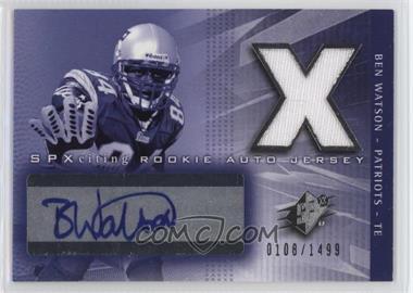 2004 SPx - [Base] #197 - Ben Watson /1499