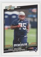Rookies - Vince Wilfork