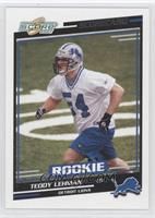 Rookies - Teddy Lehman /625