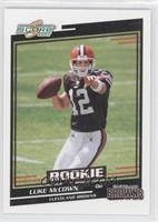 Rookies - Luke McCown