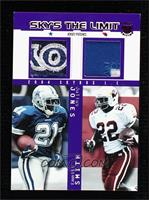 Julius Jones, Emmitt Smith #/1