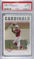 Larry Fitzgerald [PSA 10 GEM MT]
