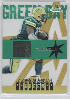 2004 Topps Finest - [Base] - Gold Refractor #107 - Ahman Green /50