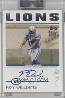 Roy Williams [Uncirculated] #/299
