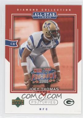 2004 Upper Deck Diamond Collection All-Star Lineup - Pro Bowl Sweepstakes Entry Cards #AS36 - Joey Thomas