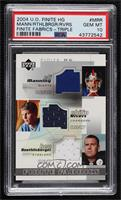 Eli Manning, Philip Rivers, Ben Roethlisberger [PSA 10 GEM MT]