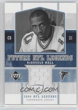 2004 Upper Deck NFL Legends - Future NFL Legends Throwbacks #FLT-DH - DeAngelo Hall