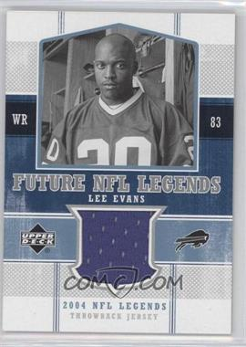 2004 Upper Deck NFL Legends - Future NFL Legends Throwbacks #FLT-LE - Lee Evans
