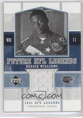 2004 Upper Deck NFL Legends - Future NFL Legends Throwbacks #FLT-RE - Reggie Williams