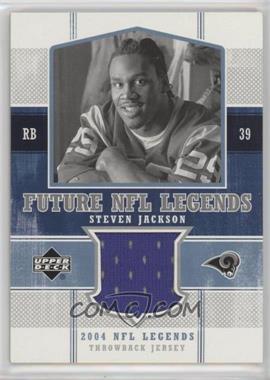 2004 Upper Deck NFL Legends - Future NFL Legends Throwbacks #FLT-SJ - Steven Jackson