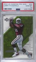 Larry Fitzgerald /349 [PSA 10 GEM MT]